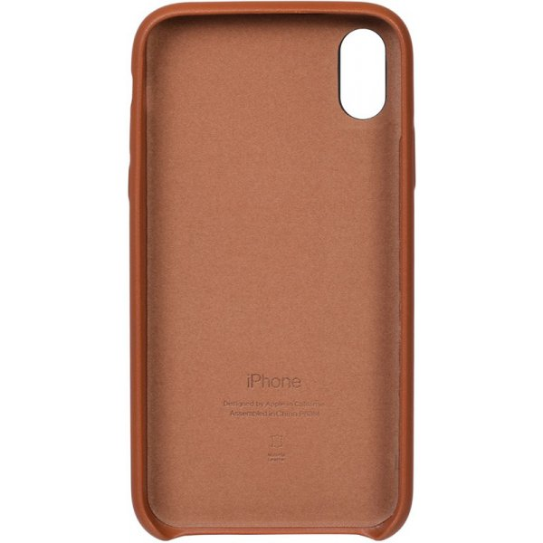 Чехол-накладка TOTO Leather Case Apple iPhone XR Brown