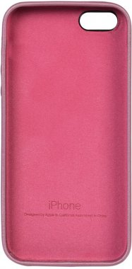 apple case chehol iphone leather nakladka pink se5s5 toto