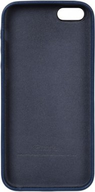 apple blue case chehol iphone leather nakladka se5s5 toto