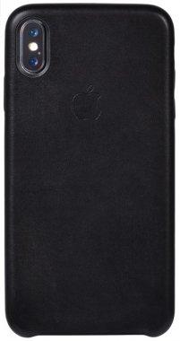 apple black case chehol iphone leather nakladka toto xsmax