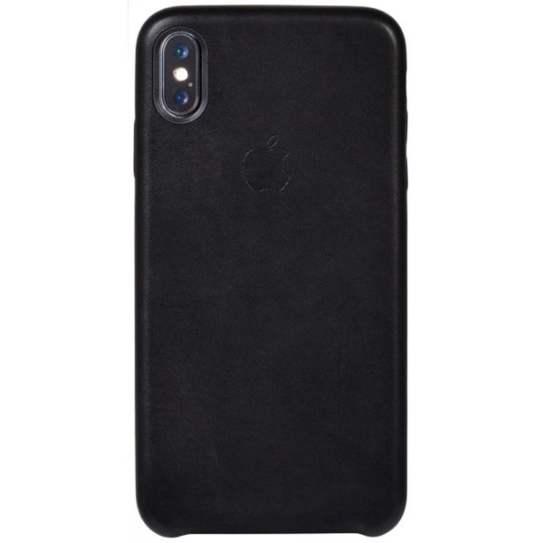 Чехол-накладка TOTO Leather Case Apple iPhone XS Max Black