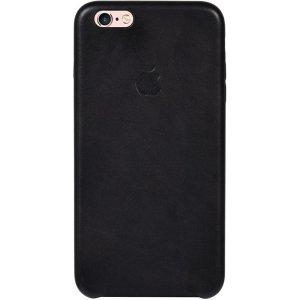 Чехол-накладка TOTO Leather Case Apple iPhone 6 Plus/6s Plus Black