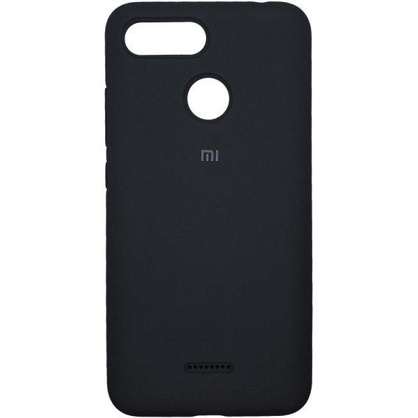 Чехол-накладка TOTO Silicone Case Xiaomi Redmi 6 Black