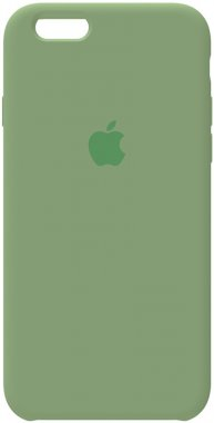 66s apple case chehol green iphone nakladka olive silicone toto