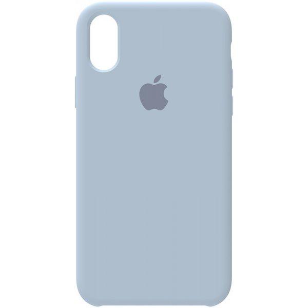 Чехол-накладка TOTO Silicone Case Apple iPhone X/XS Light Blue