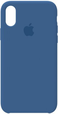 apple blue case chehol iphone midnight nakladka silicone toto xxs