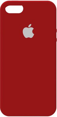 55sse apple case chehol iphone nakladka red rose silicone toto