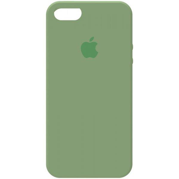 Чехол-накладка TOTO Silicone Case Apple iPhone 5/5s/SE Olive Green