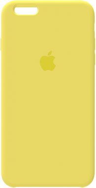 6 apple case chehol iphone nakladka plus plus6s silicone toto yellow