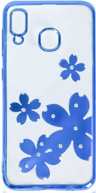 a20a30 case chehol electroplate flowers galaxy nakladka print samsung toto tpu