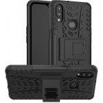 Чехол-накладка TOTO Dazzle Kickstand 2 in 1 Case Samsung Galaxy A10s Black