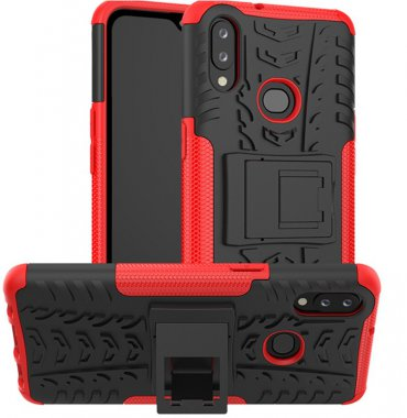 2in1red a10s case chehol dazzle galaxy kickstand nakladka samsung toto