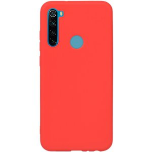 Чехол-накладка TOTO 1mm Matt TPU Case Xiaomi Redmi Note 8T Red