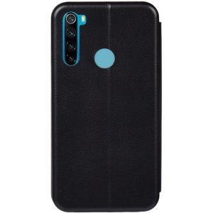 Чехол-накладка TOTO Book Rounded Leather Case Xiaomi Redmi Note 8T Black