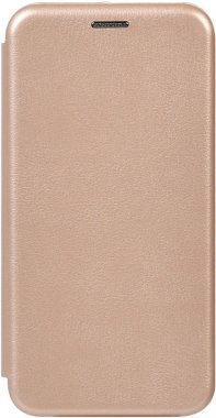 Чехол-накладка TOTO Book Rounded Leather Case Xiaomi Redmi Note 8T Gold