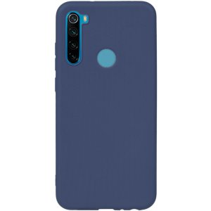 Чехол-накладка TOTO 1mm Matt TPU Case Xiaomi Redmi Note 8T Navy Blue