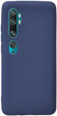 Чехол-накладка TOTO 1mm Matt TPU Case Xiaomi Redmi Note 10/Note 10 pro/MI CC9 Pro Navy Blue