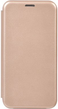 Чехол-накладка TOTO Book Rounded Leather Case Xiaomi Redmi Note 10/Note 10 pro/MI CC9 Pro Gold