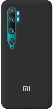 Чехол-накладка TOTO Silicone Full Protection Case Xiaomi Redmi Note 10/Note 10 pro/MI CC9 Pro Black