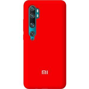 Чехол-накладка TOTO Silicone Full Protection Case Xiaomi Redmi Note 10/Note 10 pro/MI CC9 Pro Red