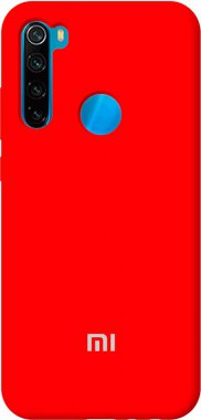 Чехол-накладка TOTO Silicone Full Protection Case Xiaomi Redmi Note 8T Red