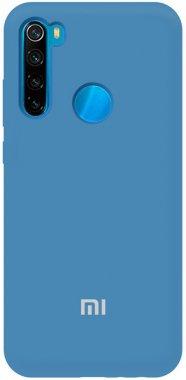 Чехол-накладка TOTO Silicone Full Protection Case Xiaomi Redmi Note 8T Navy Blue