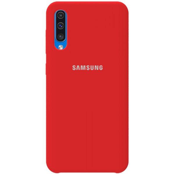 Чехол-накладка TOTO Silicone Case Samsung Galaxy A30s/A50/A50s Red