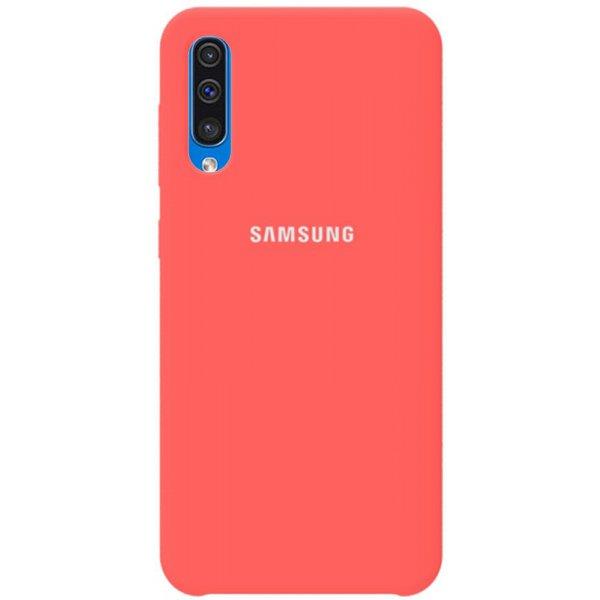 Чехол-накладка TOTO Silicone Case Samsung Galaxy A30s/A50/A50s Rose Pink