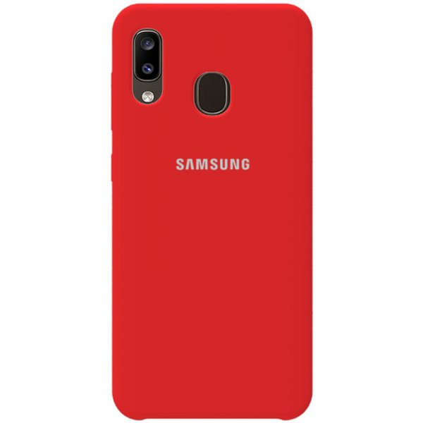 Чехол-накладка TOTO Silicone Case Samsung Galaxy A20/A30 Red