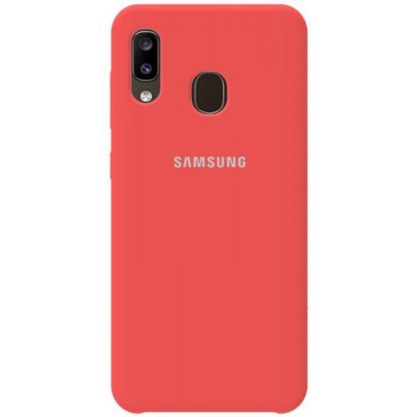 Чехол-накладка TOTO Silicone Case Samsung Galaxy A20/A30 Rose Pink