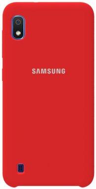Чехол-накладка TOTO Silicone Case Samsung Galaxy A10 Red