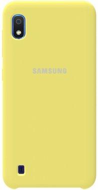 Чехол-накладка TOTO Silicone Case Samsung Galaxy A10 Lemon Yellow