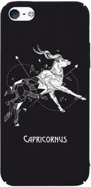 Чехол-накладка TOTO Full PC Print Case Apple iPhone SE/5s/5 #166_Capricornus Black