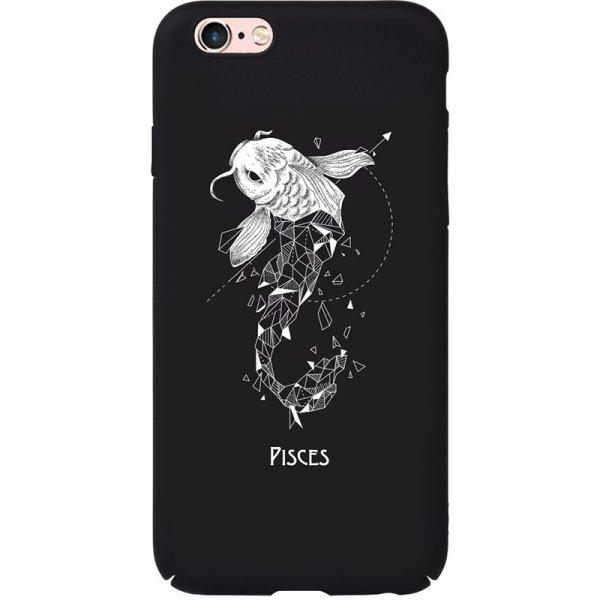 Чехол-накладка TOTO Full PC Print Case Apple iPhone 6/6S #170_Pisces Black