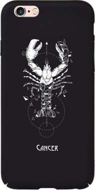 Чехол-накладка TOTO Full PC Print Case Apple iPhone 6/6S #169_Cancer Black