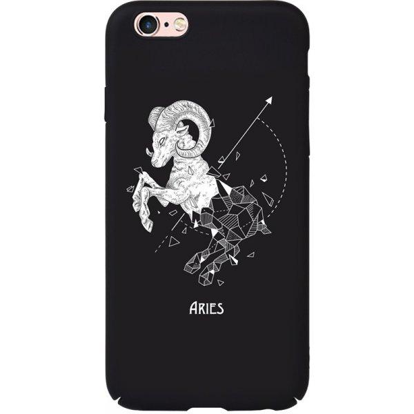 Чехол-накладка TOTO Full PC Print Case Apple iPhone 6/6S #168_Aries Black