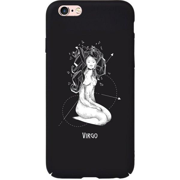 Чехол-накладка TOTO Full PC Print Case Apple iPhone 6/6S #165_Virgo Black