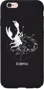Чехол-накладка TOTO Full PC Print Case Apple iPhone 6/6S #161_Scorpius Black