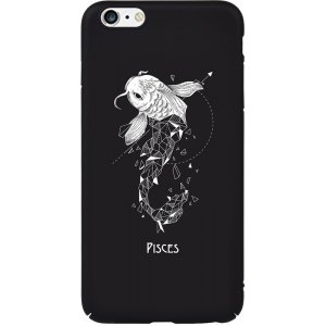 Чехол-накладка TOTO Full PC Print Case Apple iPhone 6 Plus/6S Plus #170_Pisces Black