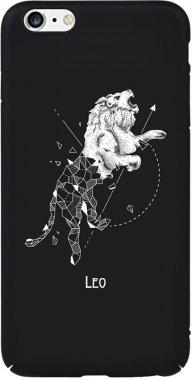 Чехол-накладка TOTO Full PC Print Case Apple iPhone 6 Plus/6S Plus #167_Leo Black