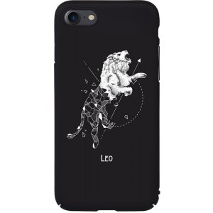 Чехол-накладка TOTO Full PC Print Case Apple iPhone 7/8 #167_Leo Black