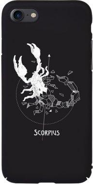Чехол-накладка TOTO Full PC Print Case Apple iPhone 7/8 #161_Scorpius Black