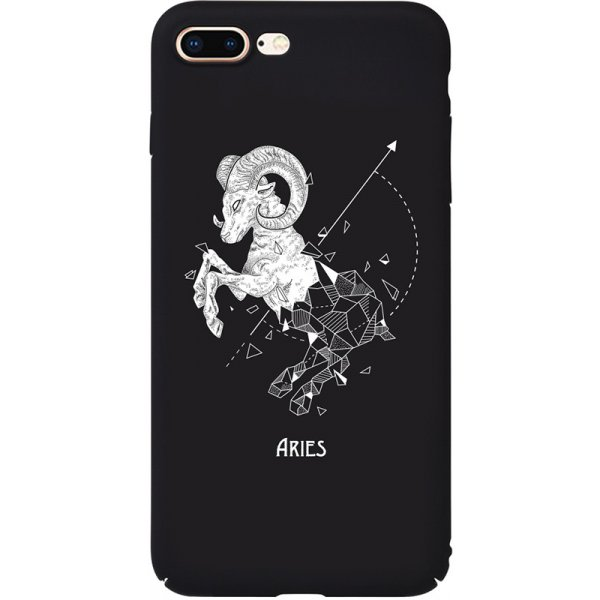 Чехол-накладка TOTO Full PC Print Case Apple iPhone 7 Plus/8 Plus #168_Aries Black