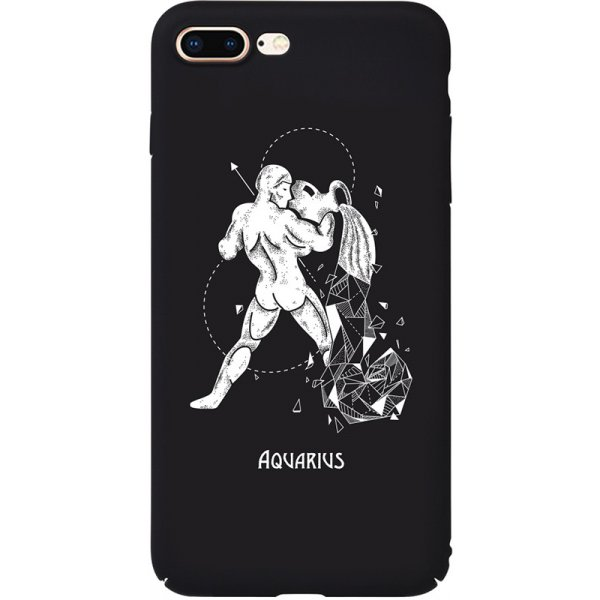 Чехол-накладка TOTO Full PC Print Case Apple iPhone 7 Plus/8 Plus #164_Aquarius Black