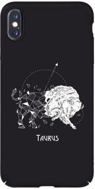 Чехол-накладка TOTO Full PC Print Case Apple iPhone X/XS #172_Taurus Black