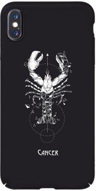 Чехол-накладка TOTO Full PC Print Case Apple iPhone X/XS #169_Cancer Black