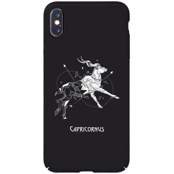 Чехол-накладка TOTO Full PC Print Case Apple iPhone X/XS #166_Capricornus Black