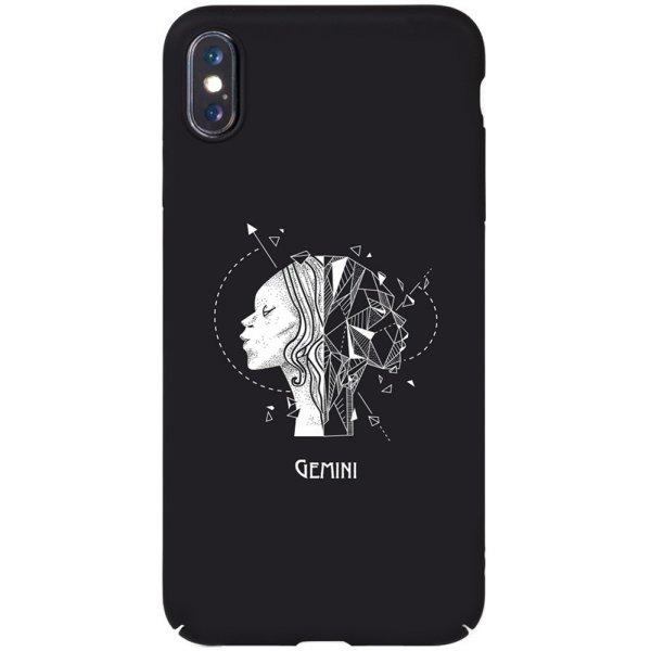 Чехол-накладка TOTO Full PC Print Case Apple iPhone X/XS #162_Gemini Black
