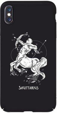 Чехол-накладка TOTO Full PC Print Case Apple iPhone XS Max #171_Sagittarius Black