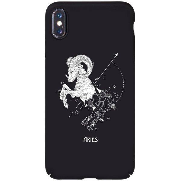 Чехол-накладка TOTO Full PC Print Case Apple iPhone XS Max #168_Aries Black
